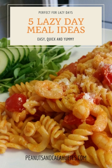 5 lazy day meal ideas