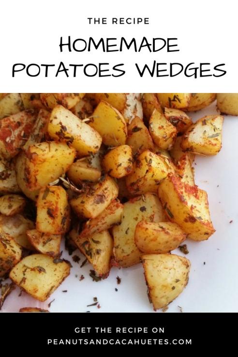 How to make homemade potatoes wedges
