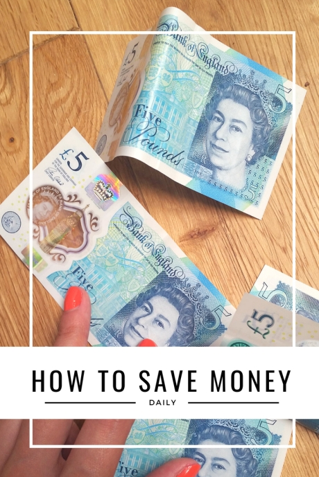 How to save money daily
