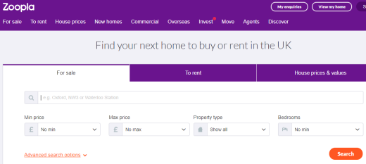 How to find a new flat - Zoopla