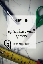 How to optimize small spaces