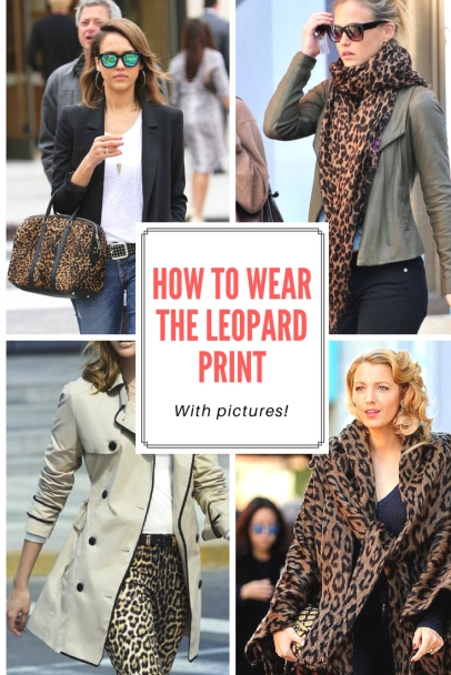 How to wear the leopard print