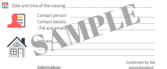 Sample - Prepare a viewing