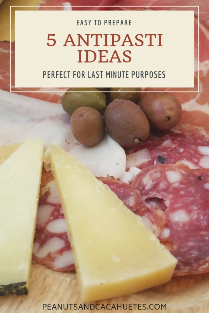5 Antipasti ideas - cheese and cold cuts platter