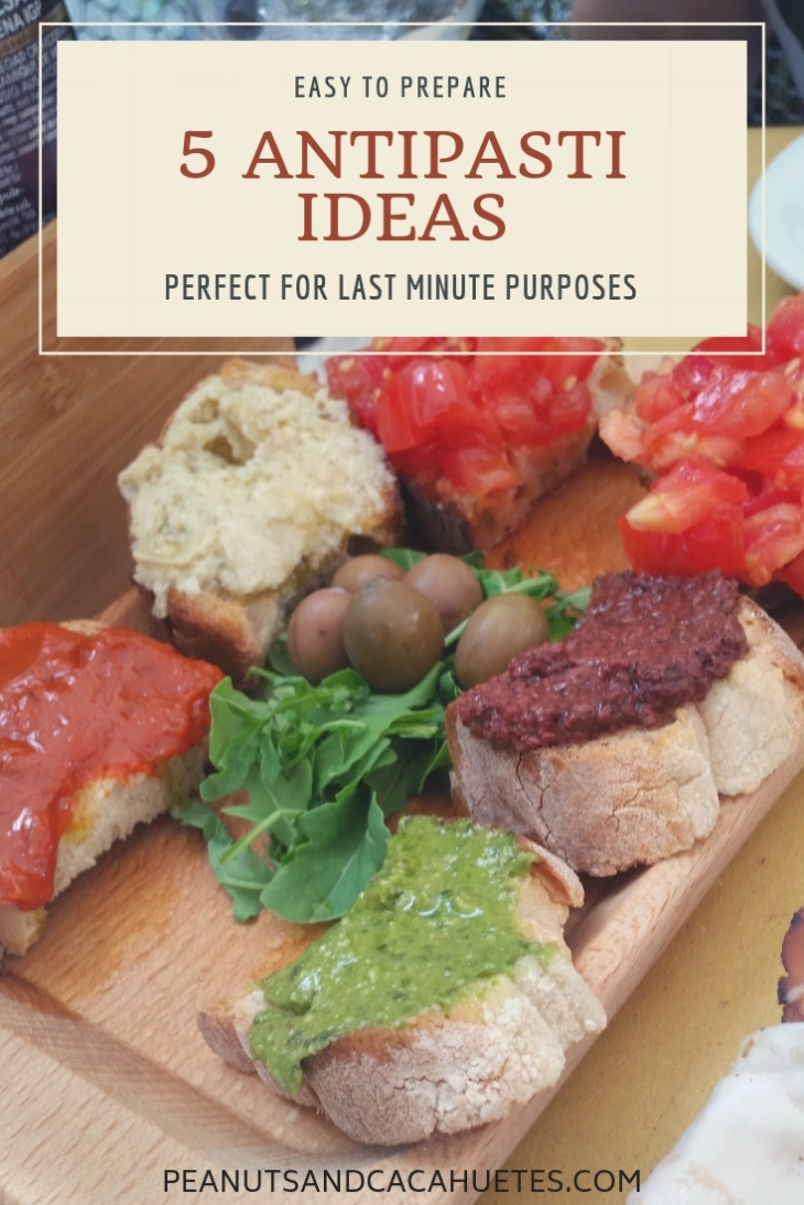5 antipasti ideas - Mini Bruschetta