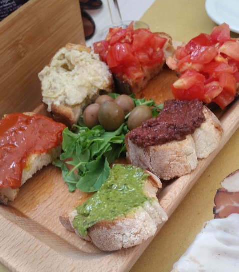 Nominated for the Versatile Blogger award - Foodie - antipasti