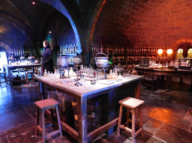Harry Potter studio tour - what to expect - potions room