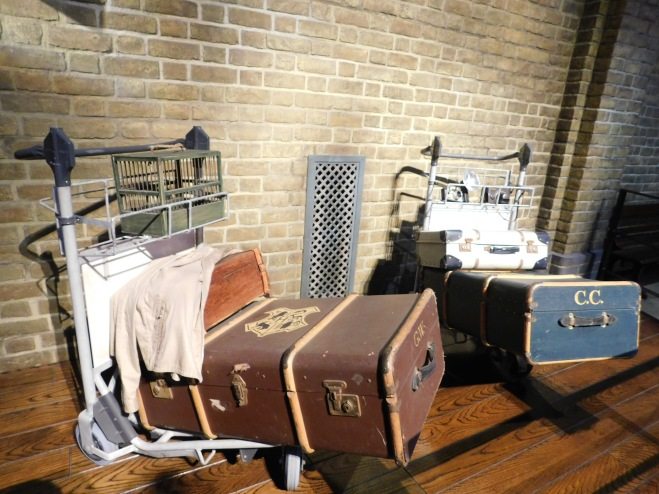 Harry Potter studio tour - what to expect - luggage