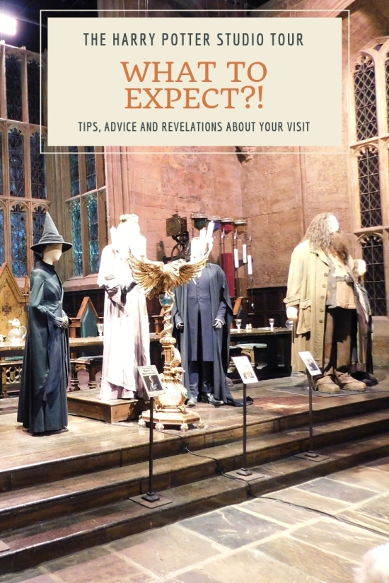 Harry Potter studio tour - what to expect costumes