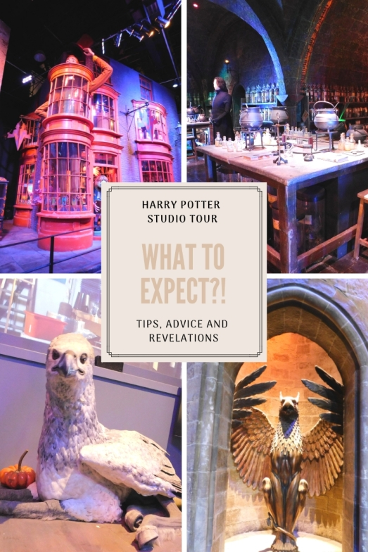 Harry Potter studio tour - what to expect 4 pictures