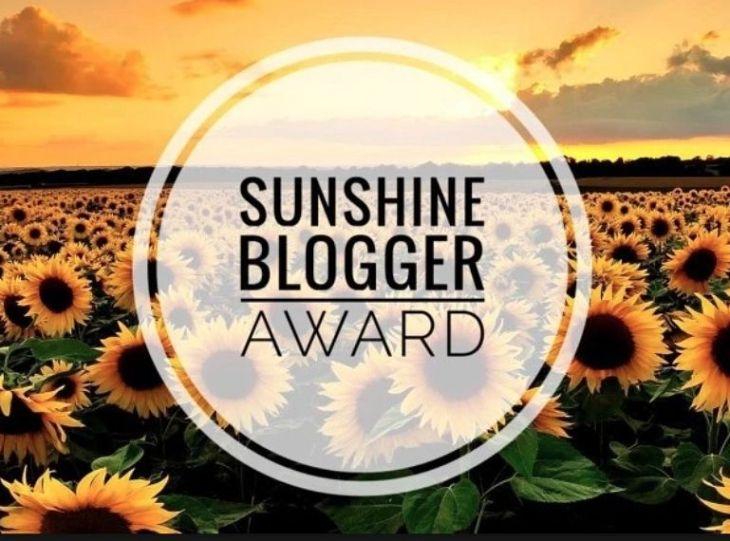 Sunshine blogger award - the logo