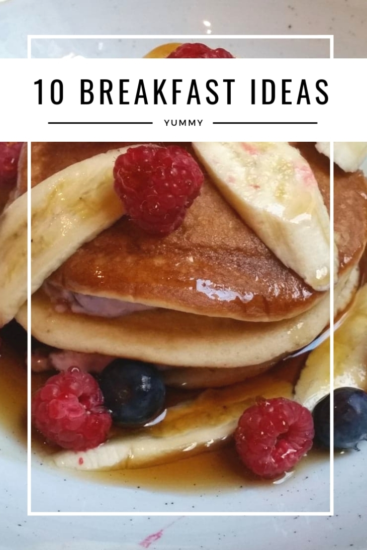 10 breakfast ideas - pancakes