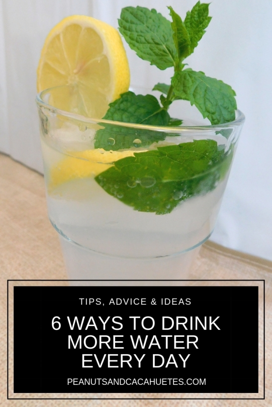 6 ways to drink more water every day - infused water