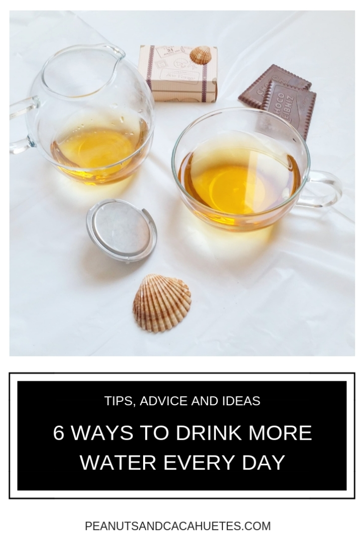 6 ways to drink more water every day - tea