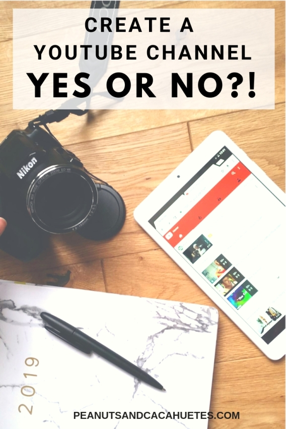 Create a youtube channel - yes or no - video creation