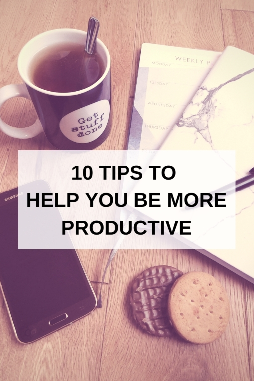 How to be more productive - plan