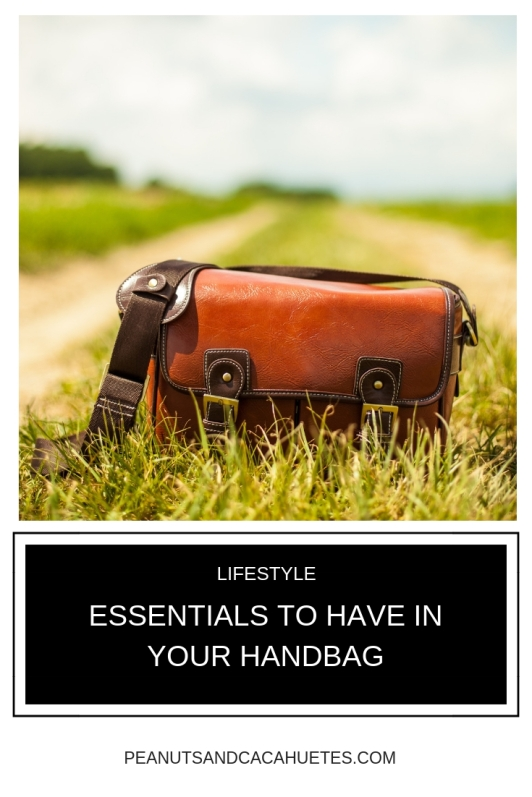 Essentials to have in your handbag - leather