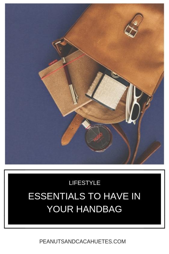 Essentials to have in your handbag